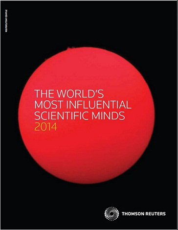 The World's Most Influential Scientific Minds 2014